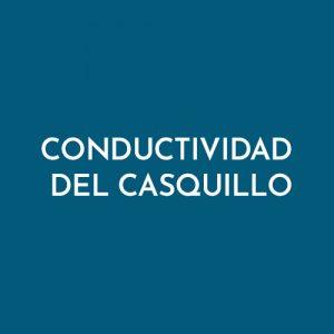 CONDUCTIVIDAD DEL CASQUILLO
